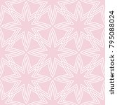geometric seamless pattern.... | Shutterstock .eps vector #795088024