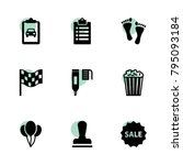 mark icons. vector collection...