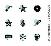 star icons. vector collection...