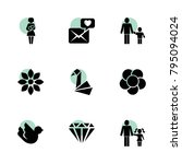 love icons. vector collection...
