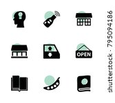 open icons. vector collection...