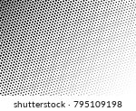 halftone background. distressed ... | Shutterstock .eps vector #795109198