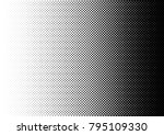 abstract halftone background.... | Shutterstock .eps vector #795109330