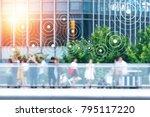 big data   iot   internet of... | Shutterstock . vector #795117220