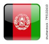 afghanistan flag vector square... | Shutterstock .eps vector #795132610