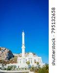 Small photo of Ibrahim al Ibrahim or King Fahd bin Abdulaziz al-Saud Mosque at Europa point, Gibraltar