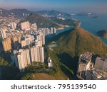 aerial photography of ap lei... | Shutterstock . vector #795139540