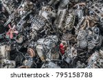Scrap Yard For Recycle The...