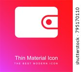wallet red and pink gradient... | Shutterstock .eps vector #795170110