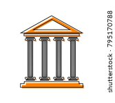historical building...   Shutterstock .eps vector #795170788
