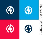 power four color material and... | Shutterstock .eps vector #795190780