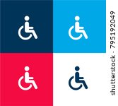 disabled four color material... | Shutterstock .eps vector #795192049