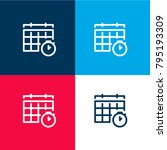 schedule four color material...