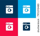 washing machine four color...