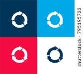 sync circular arrows four color ...