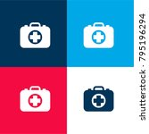 medicine briefcase four color...