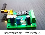 connector for inserting a sim... | Shutterstock . vector #795199534