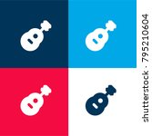 acoustic guitar four color...