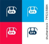 spa four color material and...