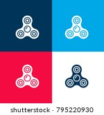 spinner four color material and ...