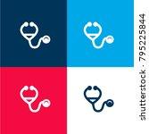 stethoscope medical heart beats ... | Shutterstock .eps vector #795225844