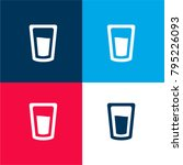 water glass four color material ...