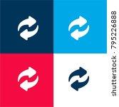 synchronization arrows couple... | Shutterstock .eps vector #795226888