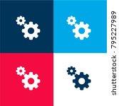 settings interface symbol of... | Shutterstock .eps vector #795227989