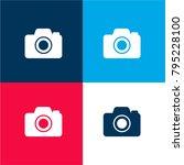 photo camera four color...
