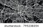 urban vector city map of... | Shutterstock .eps vector #795238354