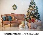 furniture in the interior   Shutterstock . vector #795262030
