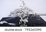 silver sculptures  objects from ... | Shutterstock . vector #795265390
