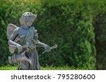 Portrait Cherub Cupid Figure I...