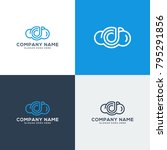 cloud logo template  cloud icon ... | Shutterstock .eps vector #795291856