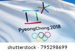 south korea pyeongchang...   Shutterstock . vector #795298699