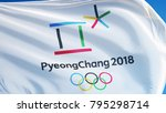 south korea pyeongchang... | Shutterstock . vector #795298714
