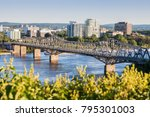 panorama of gatineau seen from... | Shutterstock . vector #795301003