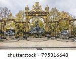 neptune fountain  1751  on... | Shutterstock . vector #795316648
