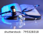 Medical Law Concept. Gavel ...