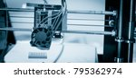 electronic three dimensional... | Shutterstock . vector #795362974