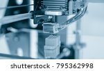 electronic three dimensional... | Shutterstock . vector #795362998