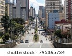 curitiba  brazil  january 03 ... | Shutterstock . vector #795365734