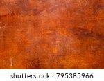 metal with rust texture...   Shutterstock . vector #795385966