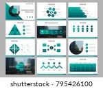 green bundle infographic...   Shutterstock .eps vector #795426100