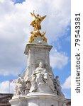 Victoria Monument On Buckingha...