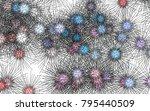 light colored vector template...   Shutterstock .eps vector #795440509