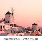 beautiful classic landscape...   Shutterstock . vector #795474850
