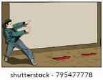 stock illustration. people in... | Shutterstock .eps vector #795477778
