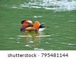 yilan city  taiwan  colorful... | Shutterstock . vector #795481144