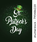 st patrick's day  17 march  | Shutterstock .eps vector #795486220